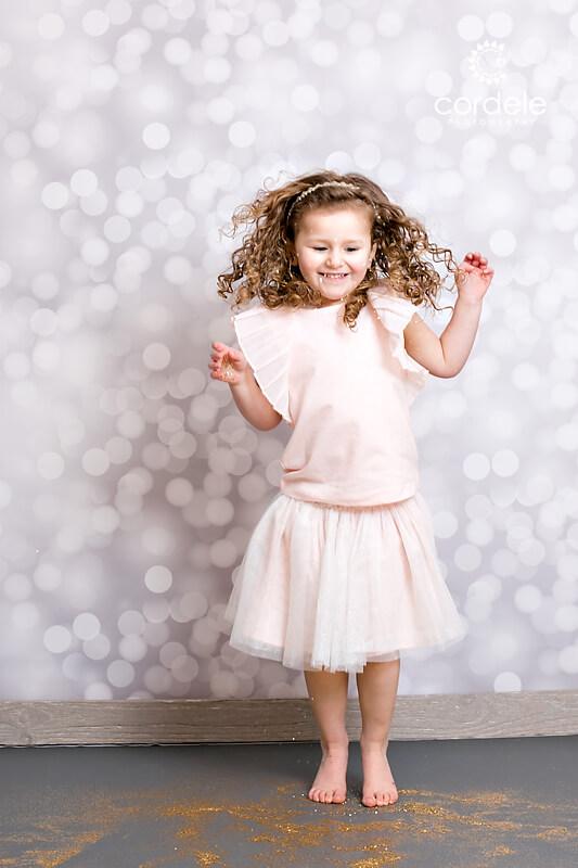 Glitter Portrait Shoot Andover Massachusetts
