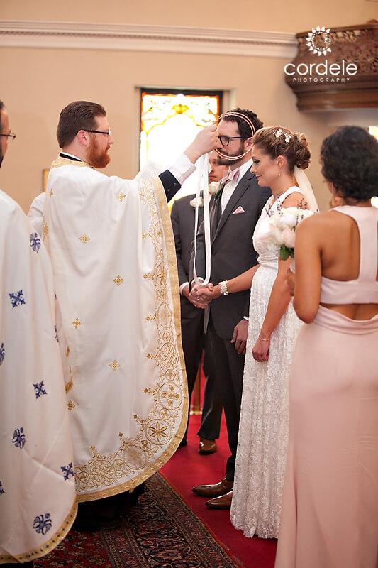 wedding ceremony St. Mary Cambridge MA