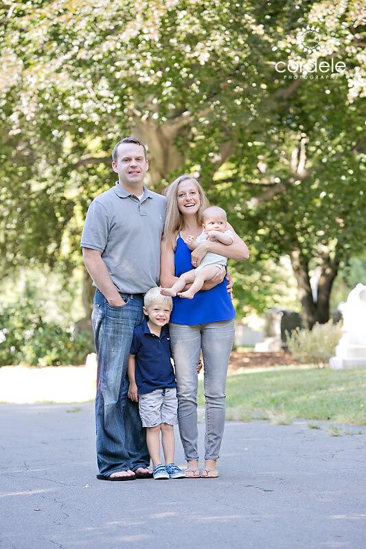 Family Photo taken in Cambridge ma