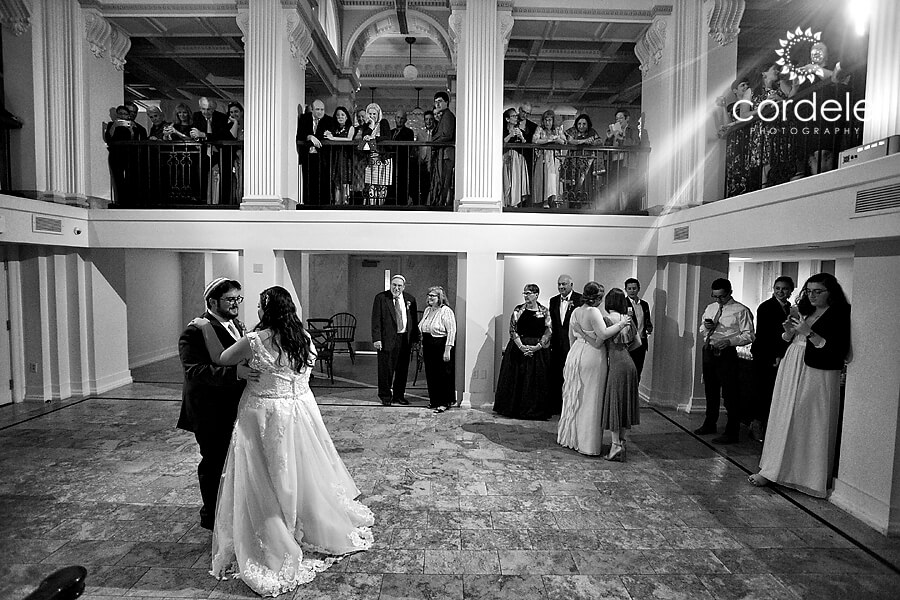 Briding groom first dance photo