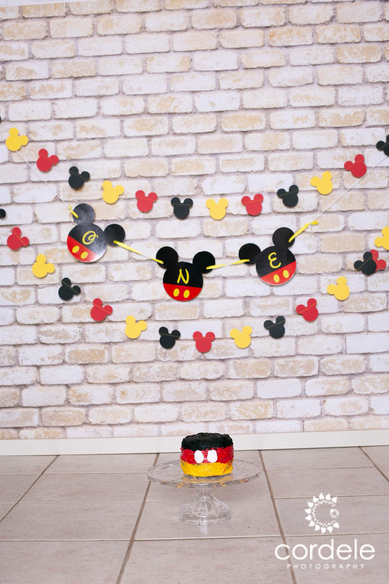 Mickey Mouse Theme for Cake Smash Sessions