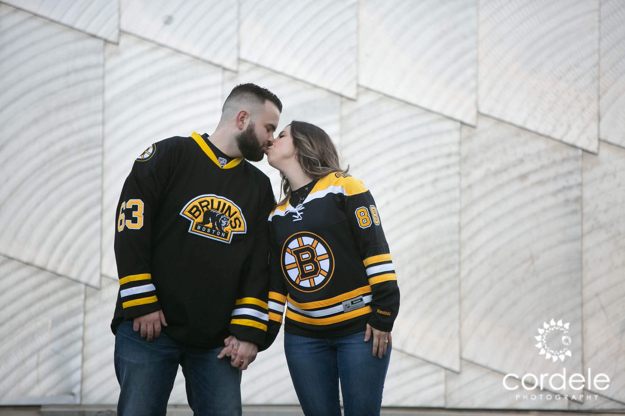 Bruins Engagement Photos