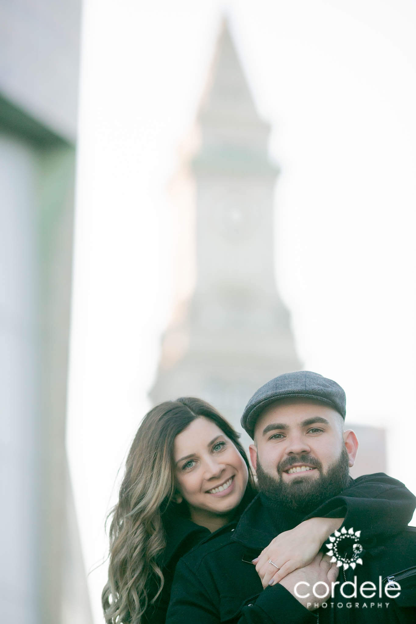 In Love Boston Engagement Session